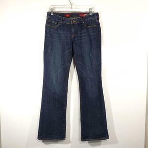 🦉 Express X2 Womens w10 Boot Size 6R Denim Jeans